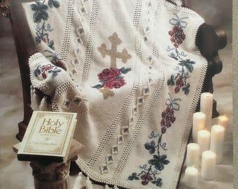PDF Crochet Victorian Cross Afghan