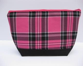 Knitting bag, crochet bag, project bag, make up bag, craft bag