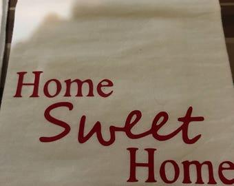Home Sweet Home Decorative Dish Towel