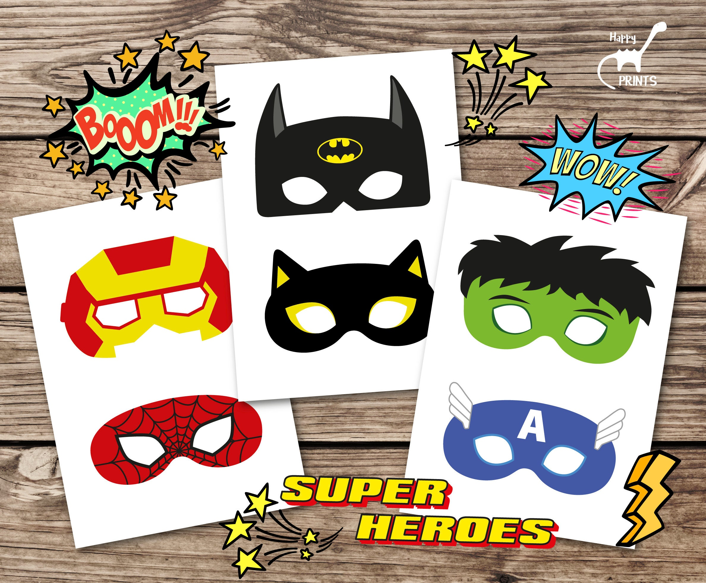 Uncategorized Printable Superheros superhero masks hero printable