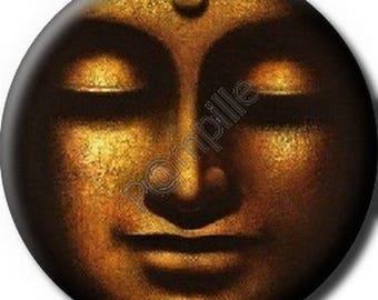 Cabochon resin 25 mm - Buddha (857) stick