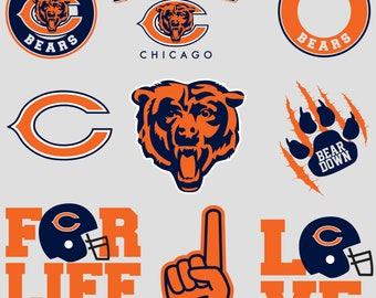 Chicago Bears.Svg.Dfx.Eps.Pdf.Png.JPG.
