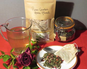 Rose Garden Herbal Green Tea