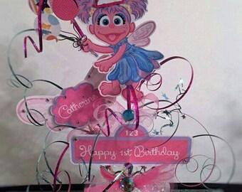Abby Cadabby centerpiece