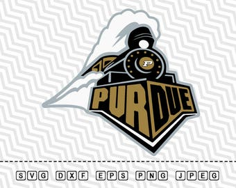 SVG Purdue Boilermakers Logo Vector Layered Cut File Silhouette Cameo Cricut Design Template Stencil Vinyl Decal Tshirt Heat Transfer Iron