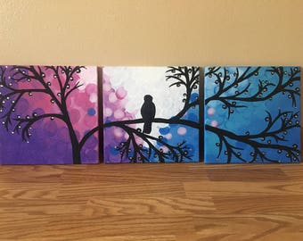 Three Piece Canvas painting