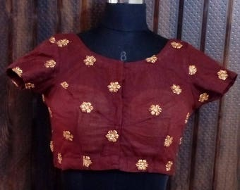 Coco Brown Blouse