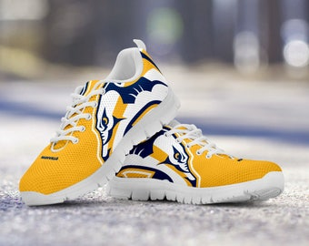 Nashville Predators Custom Running Shoes/Sneakers/Trainers - Ladies + Mens Sizes fan, collector, gift
