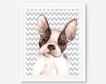 French bulldog print, French bulldog art, French bulldog gift, franchise, bulldog poster, bulldog print, frenchie art, French bulldog art