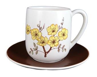 Carlton Ware 'Mimosa' Cup & Saucer