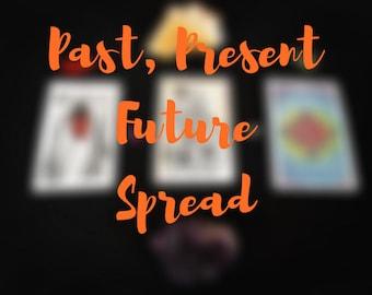 Past, Present, Future Spread