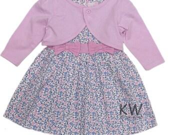 New Baby Dress with bolero Jacket