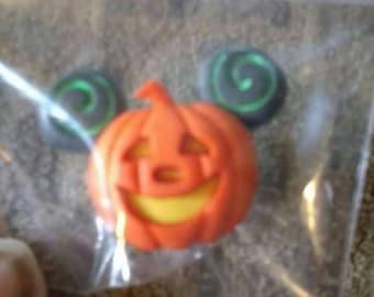 Mickey Mouse Pumpkin Pin#2