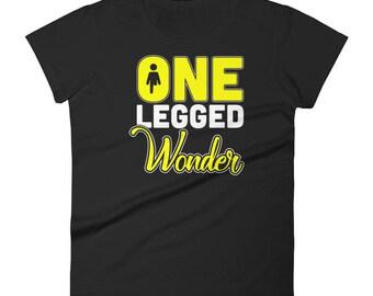 One Legged Wonder Women's Short Sleeve T-shirt for Amputees