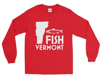 Fish Vermont Fishing T-Shirt