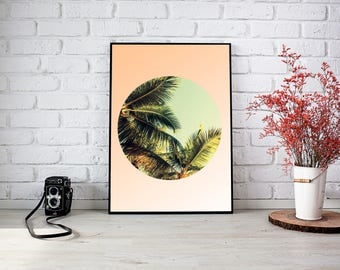 Palm Tree Downloadable Print