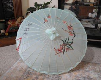 Chinese fabric umbrella