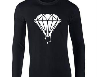 Diamond Co Artwork logo Long Sleeved Tee