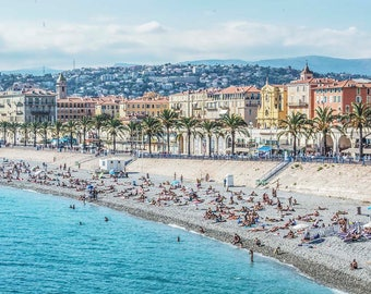 The French Riviera, Nice, France Photography Print
