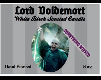 Harry Potter | Lord Voldemort | He Who Must Not Be Named | Inspired Candle