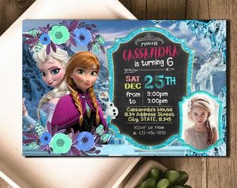 Frozen Birthday, Frozen Invitation, Frozen Party, Frozen Invite, Frozen Birthday Invite, Frozen Party Invite,Frozen Birthday Party, SL474