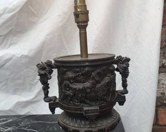 Metal French Style lamp base