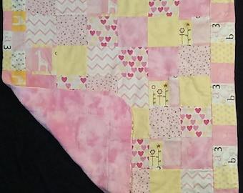 pink/yellow blanket 8