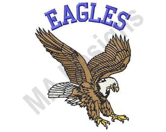 Eagles - Machine Embroidery Design, Eagle