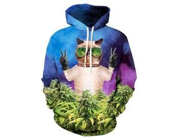 Weed Hoodie, Weed Sweatshirt, Weed Sweater, Smoke Weed, Weed Stuff, Hoodie Art, Hoodie Pattern, Pattern Hoodie, Hoodie, 3d Hoodie - Style 2