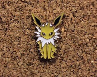 Pokemon Jolteon Eeveelution Enamel Pin