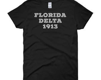 Florida Delta 1913 Women's short sleeve t-shirt