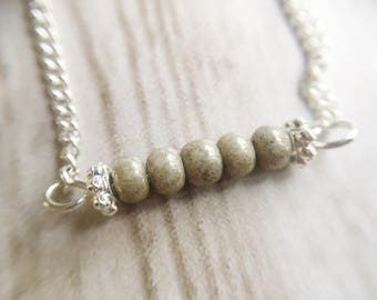 Necklace / silver / Valentine gift | Necklace Natural Beauty