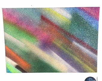 Color Streams - Spray paint art
