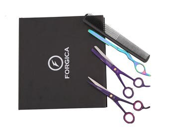Professional Salon Shears Hairdressing Set Cutting+Thinning Barber Scissors