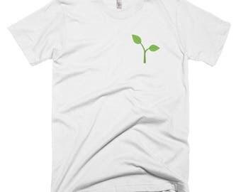 Plant Emoji Vegan Short-Sleeve T-Shirt