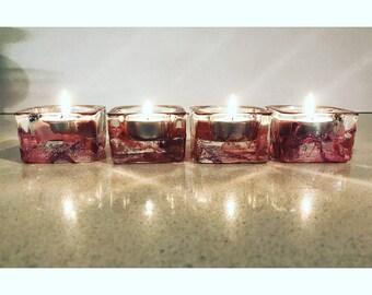 Hand Decorated Tea Light Holders