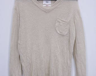 Vintage 417 by Edifice Shirt Long Sleeve Knitwear size Medium