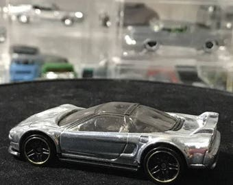 Custom Polished Hot Wheels 90 Acura Nsx