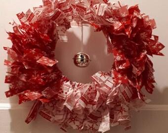Small rag wreath