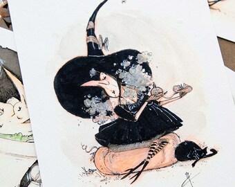 Perfume - Inktober - Art Print