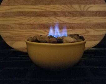 Relaxing, mesmerizing fire bowls