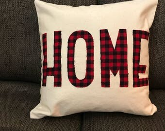 HOME Buffalo Plaid Accent Pillow Cover
