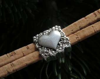 Sweet Cork bracelet with heart