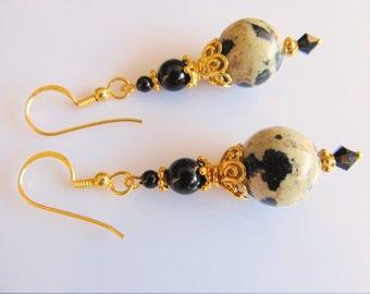 Earrings Golden Dalmatier