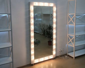 Handmade mirror etsy for Miroir hollywood ikea