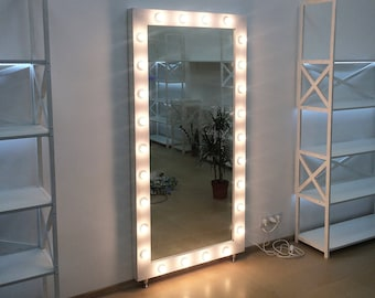 Vanity mirror etsy showroom mirrorvanity mirror with lightsmakeup mirrorhollywood vanity mirrormirror mozeypictures Image collections