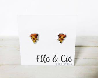 Pizza, Pizza Earrings earrings