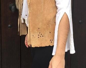 Arden B Leather Vest