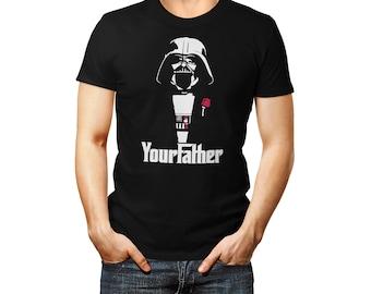 New Funny Star Wars Parody Your Father Joke Gift Fathers Day, Birthday
