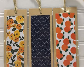 Orange Blossoms  Bookmark